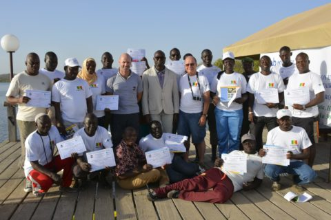 Participants CBMER training, Saloum Delta, Senegal, May 2018