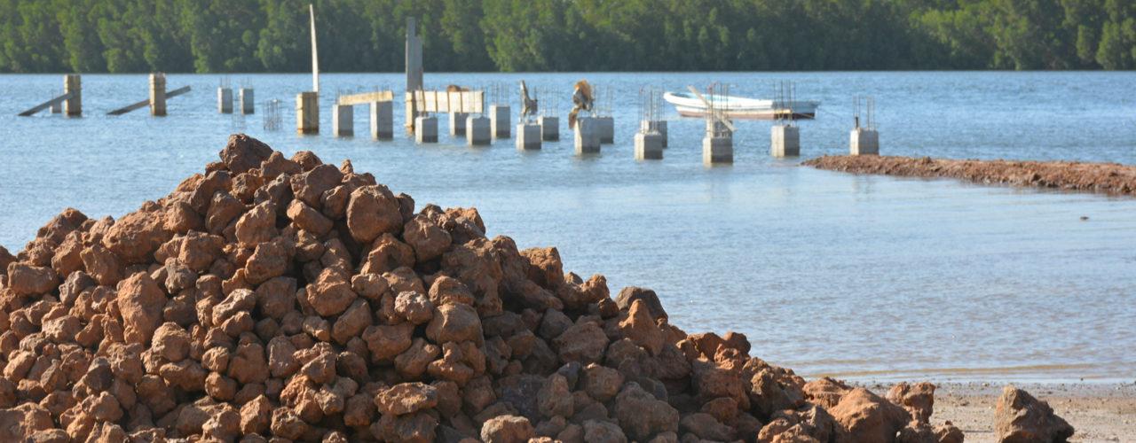 Construction d'infrastructure hôtelière à Toubacouta
