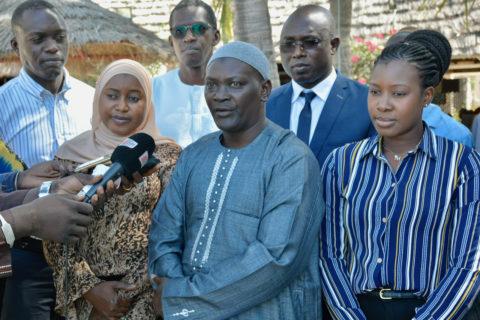 """Conférence de presse lancement """"Grand Saloum"""""""