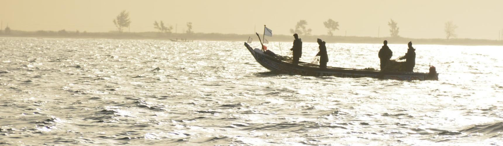 Pêcheurs au large de dionwar